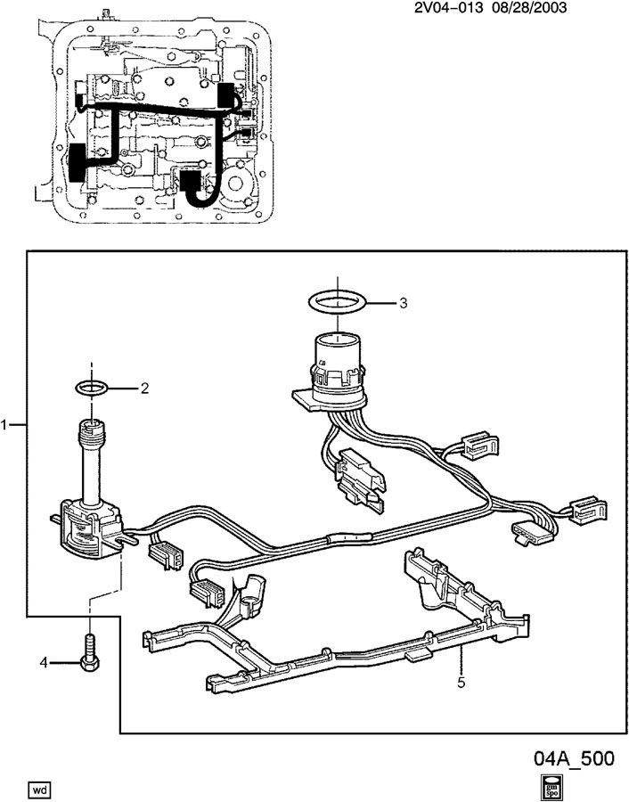 24234280 - GM Harness. Chassis wiring. Transmission ...