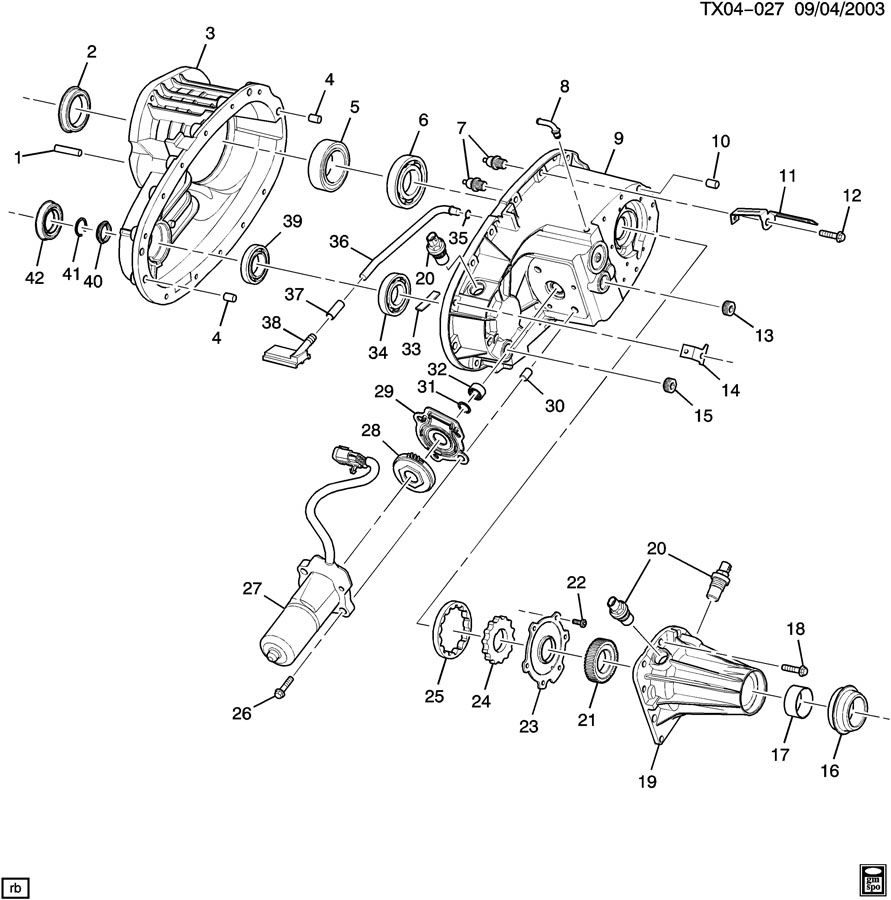 2004 chevy trailblazer parts diagram