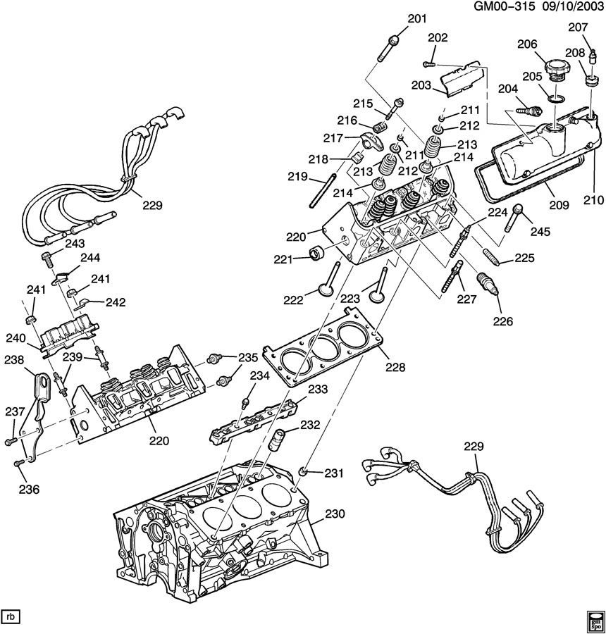 3 4l v6 engine gm cooling system diagram gm 3 4l v6 engine diagram engine asm-3.4l v6 part 2 cylinder head & related parts