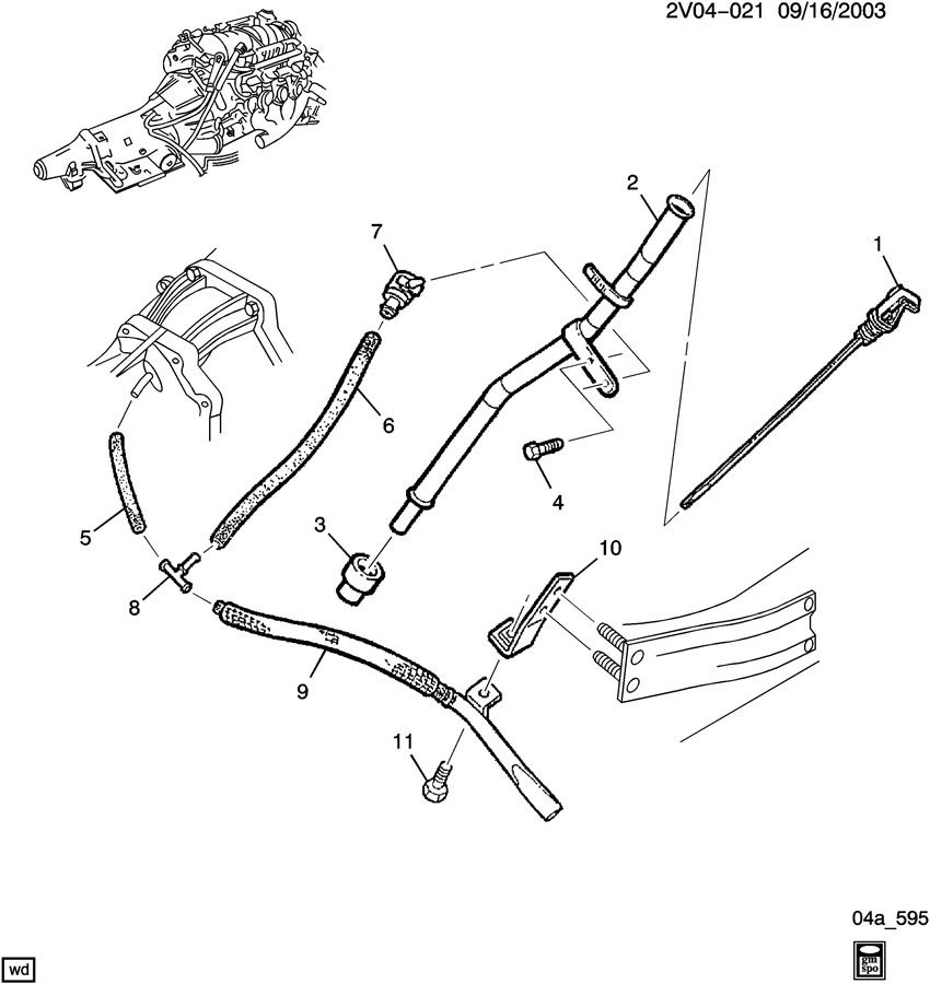 service manual  how to replace transmission filler tube