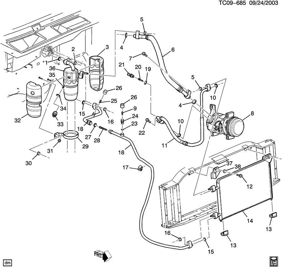 6 6l duramax fuel pump location