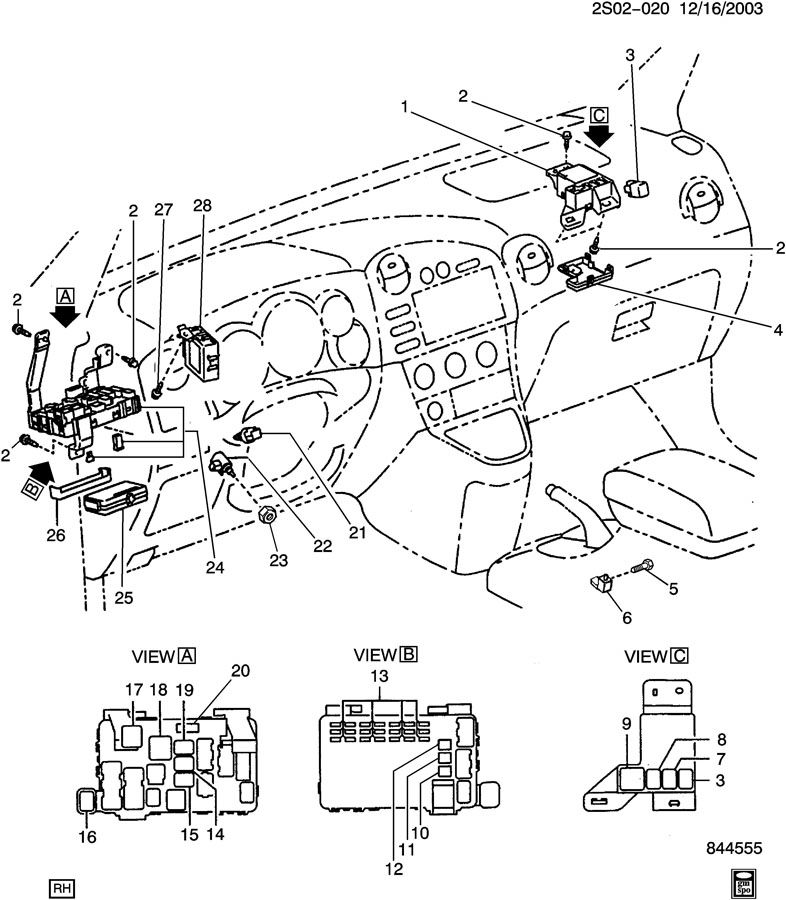 Pontiac Vibe Trailer Wiring Diagram