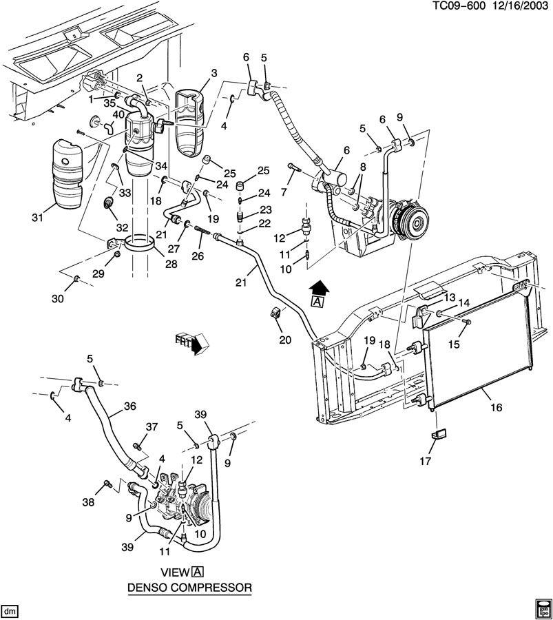 15187285  C  Compressor And Condenser