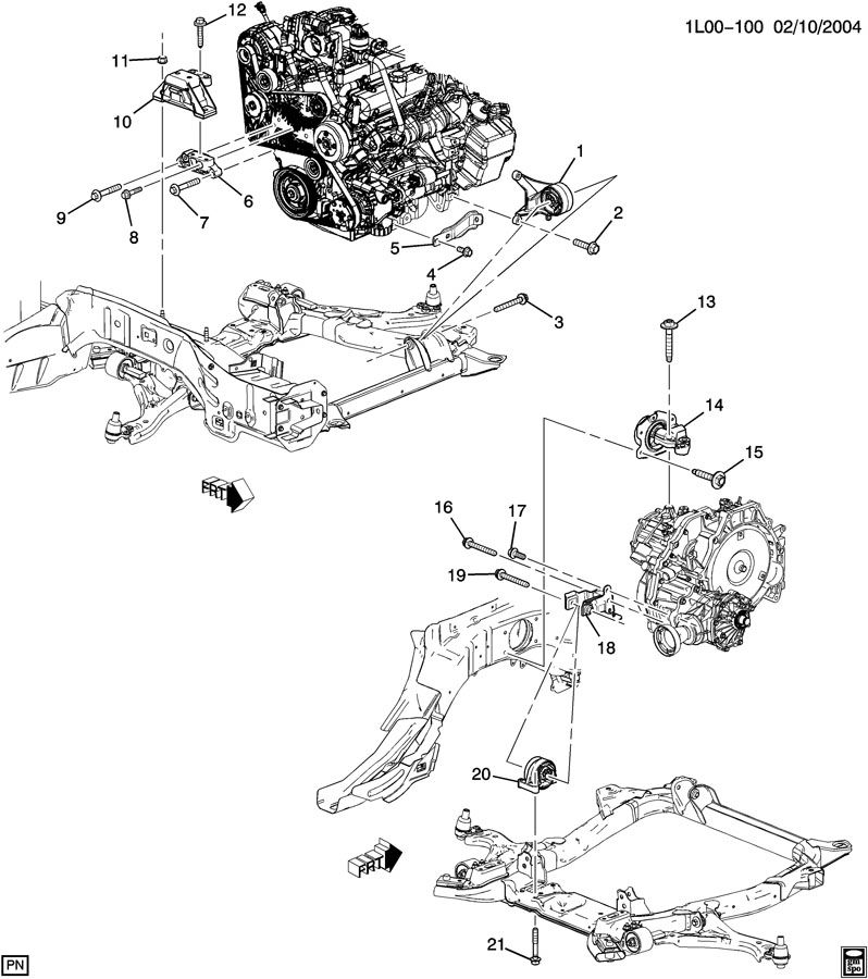 engine  u0026 transmission mounting