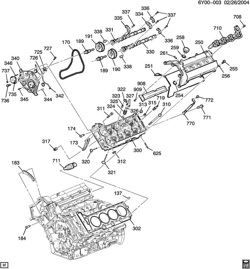 Cadillac Sts Valve  Engine Camshaft  Valve  Cm  Shf Posn Actr Sol