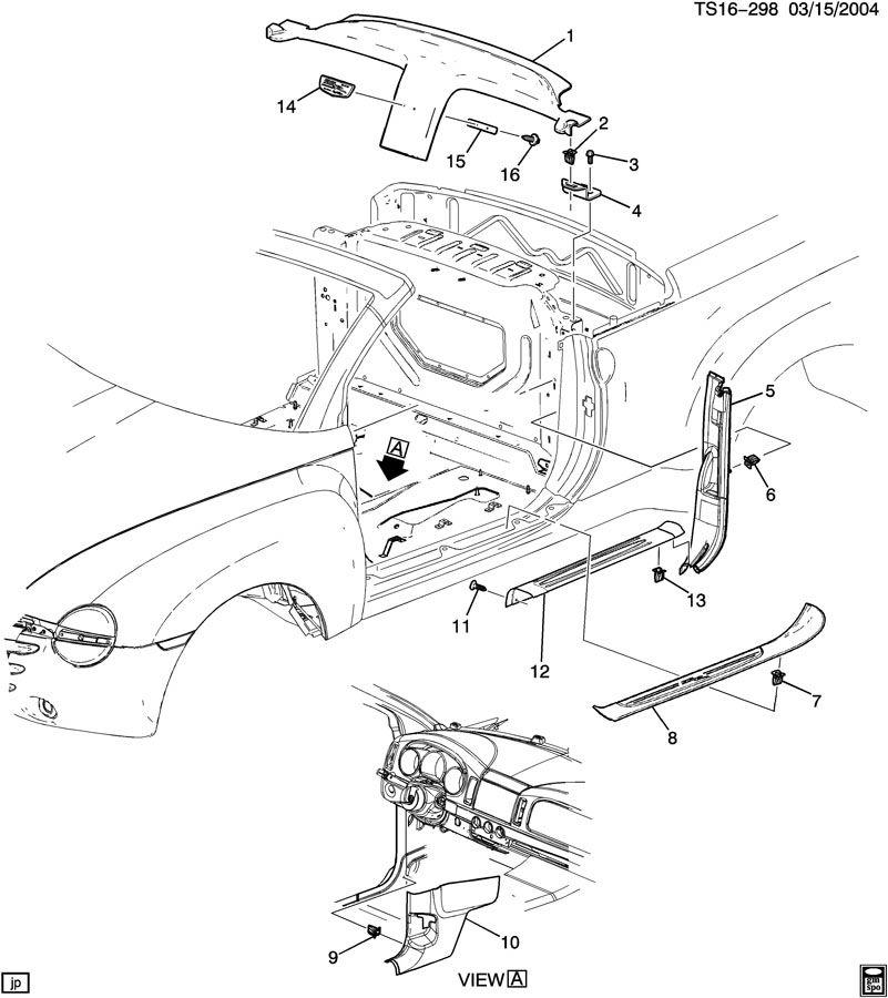 Chevrolet Trailblazer Ss Trim Interior