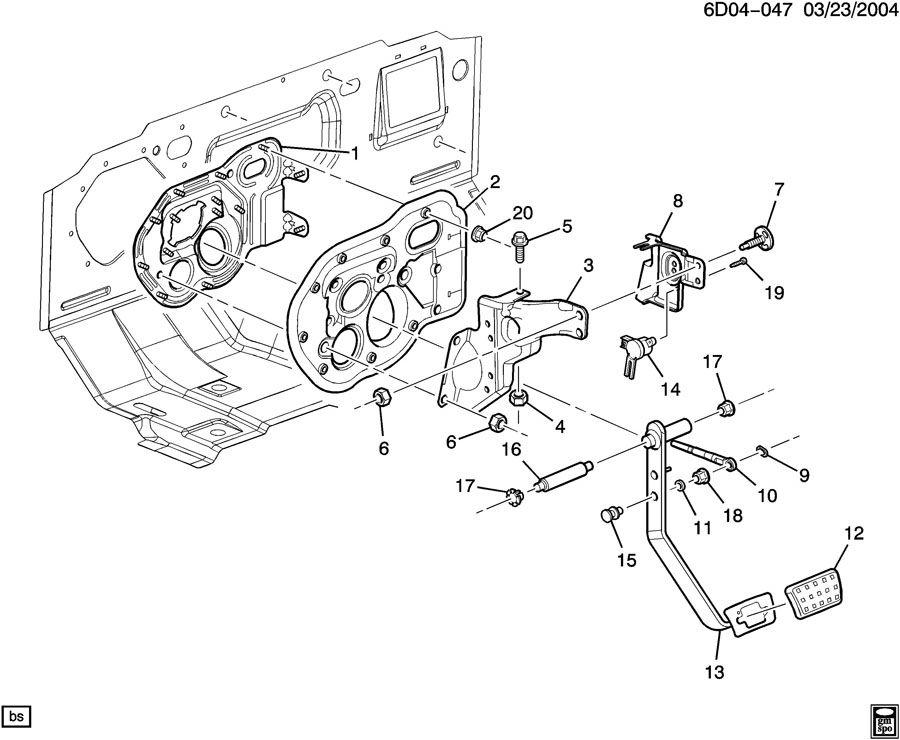 Chevrolet S10 Retainer