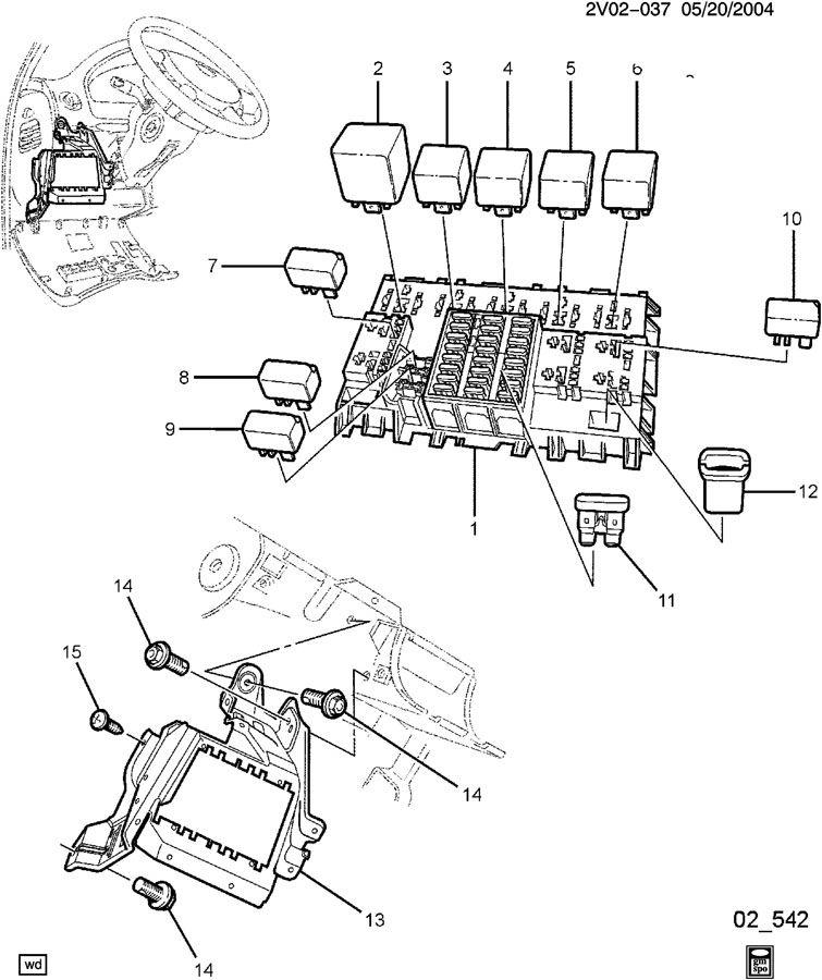 2004 pontiac gto block i p fuse. Black Bedroom Furniture Sets. Home Design Ideas