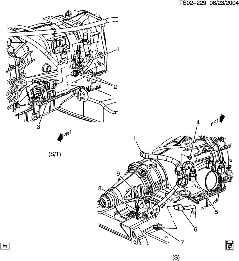 Oldsmobile Bravada Connector  Chassis Electrical