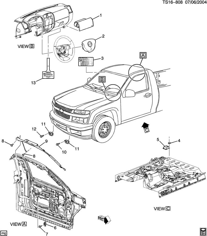 Seats And Carpet Console Chevrolet Colorado Amp Gmc Canyon