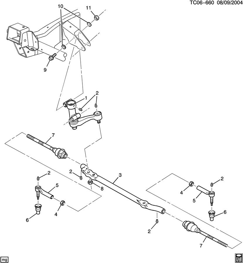 2005 chevrolet express power steering diagram