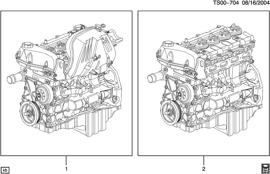 Diagram ENGINE ASM & PARTIAL ENGINE for your 2007 Chevrolet COLORADO