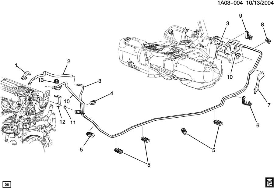 chevrolet hhr drum brake diagram
