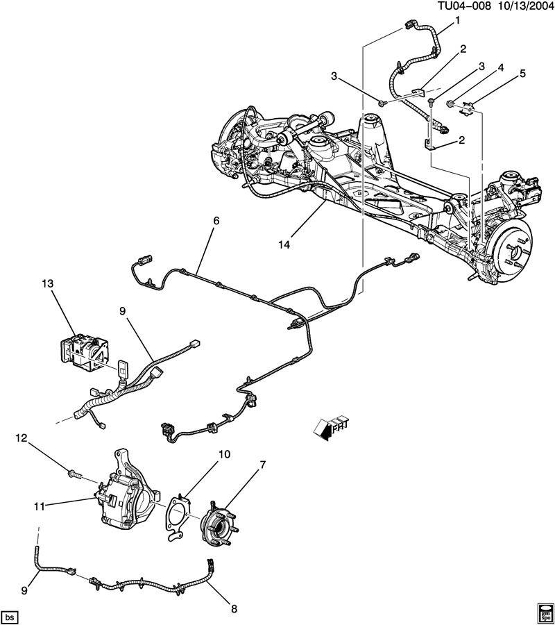 Terraza Awd Rear Suspension: 2005 Buick Rainier Parts Diagram At Ariaseda.org