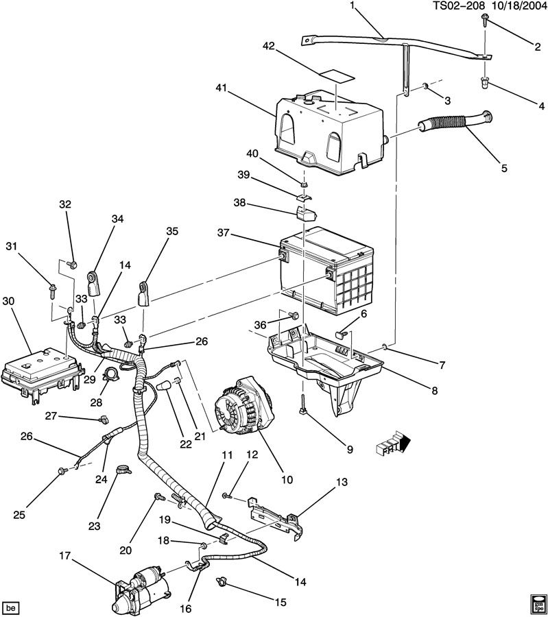 2002 Oldsmobile Bravada Suspension Diagram