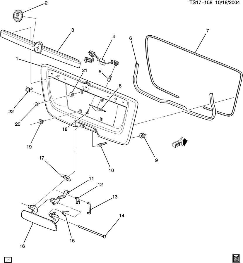 chevrolet trailblazer stud  bolt  main wiring junction and fuse block  front fender panel  fuel