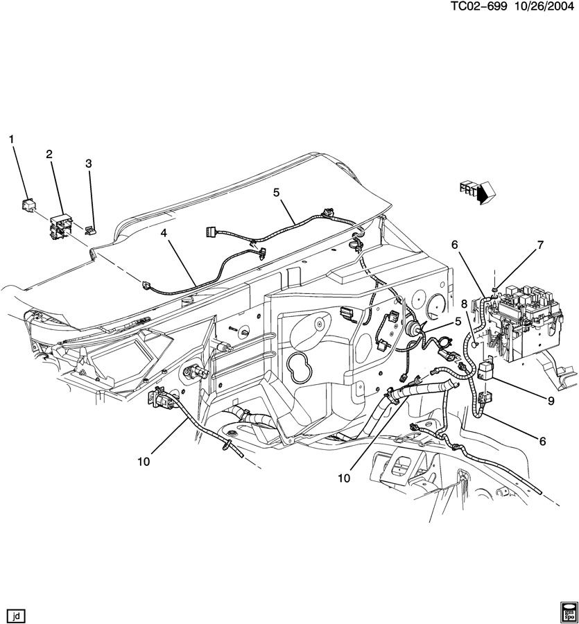 wiring harness  auxiliary