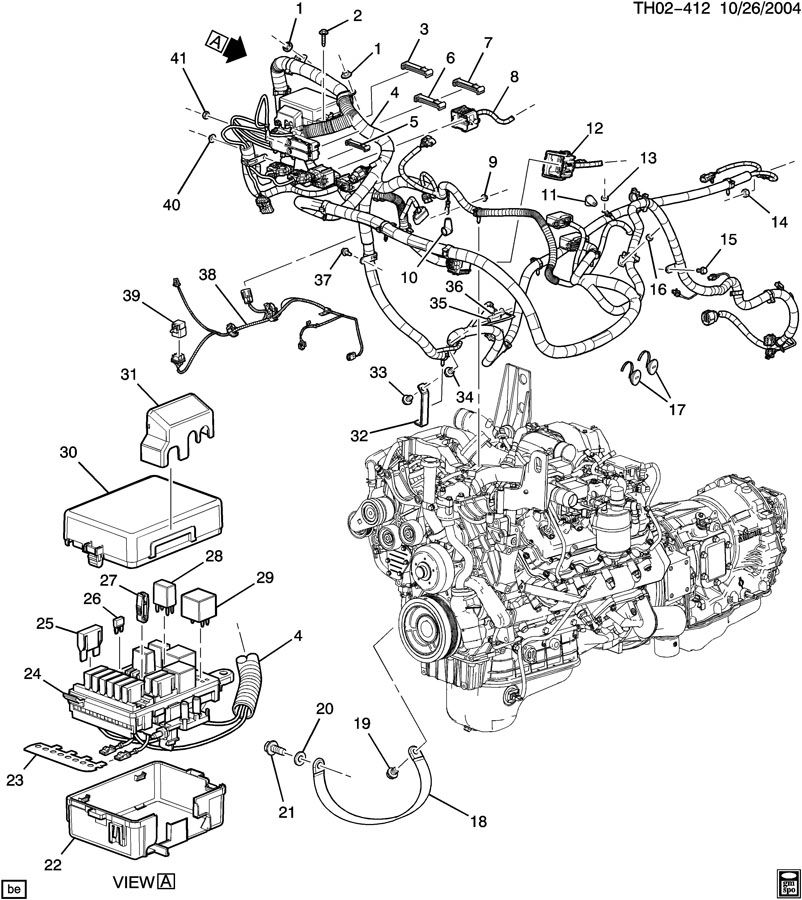 wiring harness/engine econmy kohler engine electrical diagram duramax lb7 engine electrical diagram