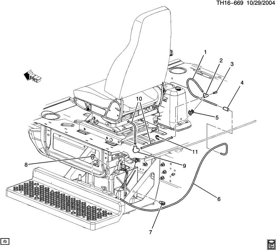 Air Supply Parts : C u v seat hardware air supply lines