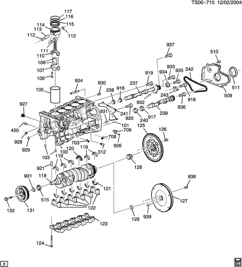 oil leak from front of the engine chevrolet colorado gmc canyon rh 355nation net 2006 Chevy Colorado Wiring- Diagram 2004 GMC Envoy Engine Diagram