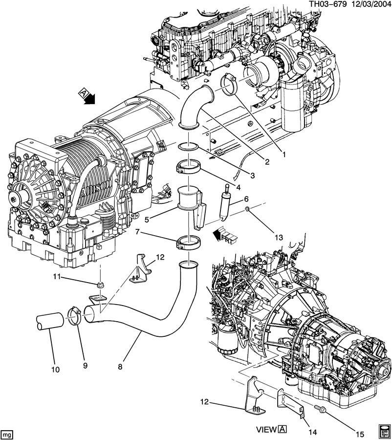 Gmc C7500 Cylinder  Engine Brake  Cylinder  Eng Brk Without Ball Stud End
