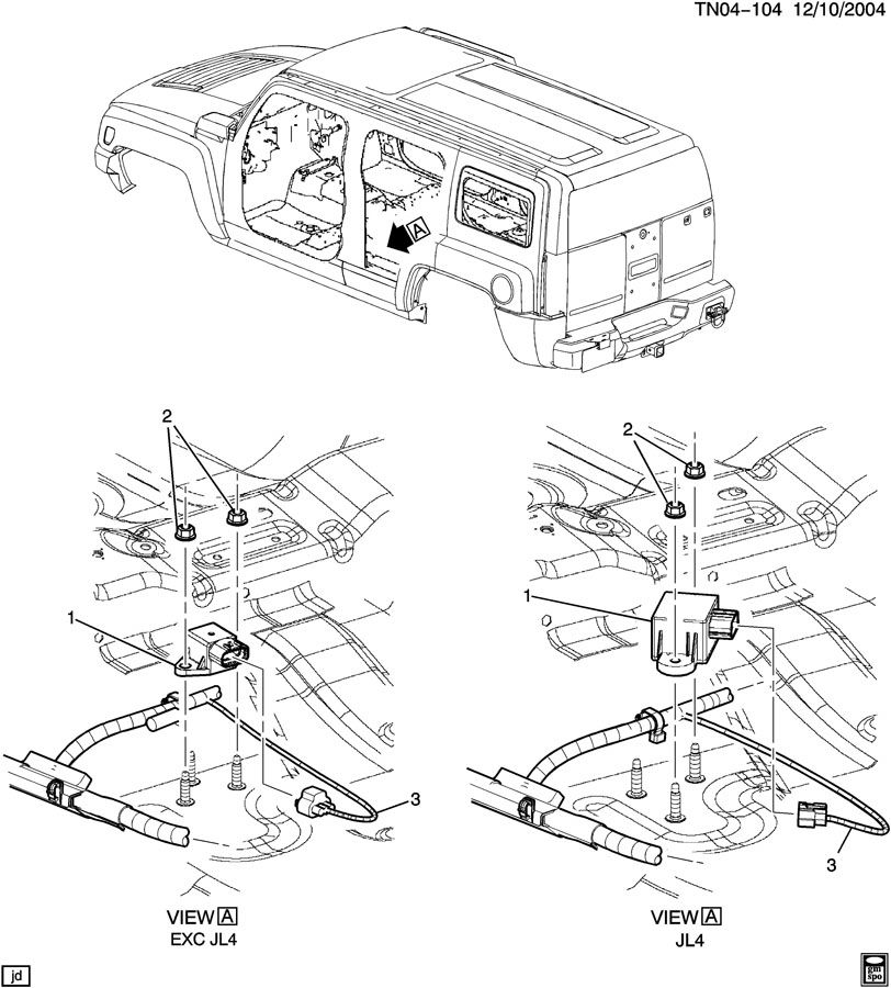 brake electrical system  longitudinal accelerometer