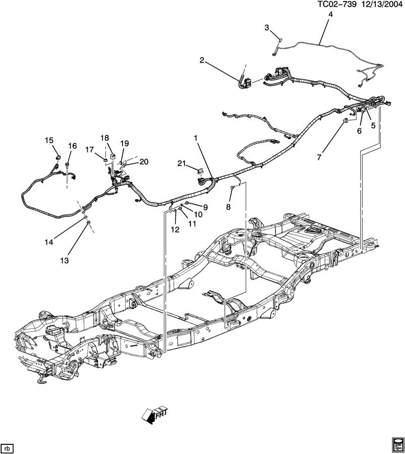 chevrolet suburban wiring harness  chassis
