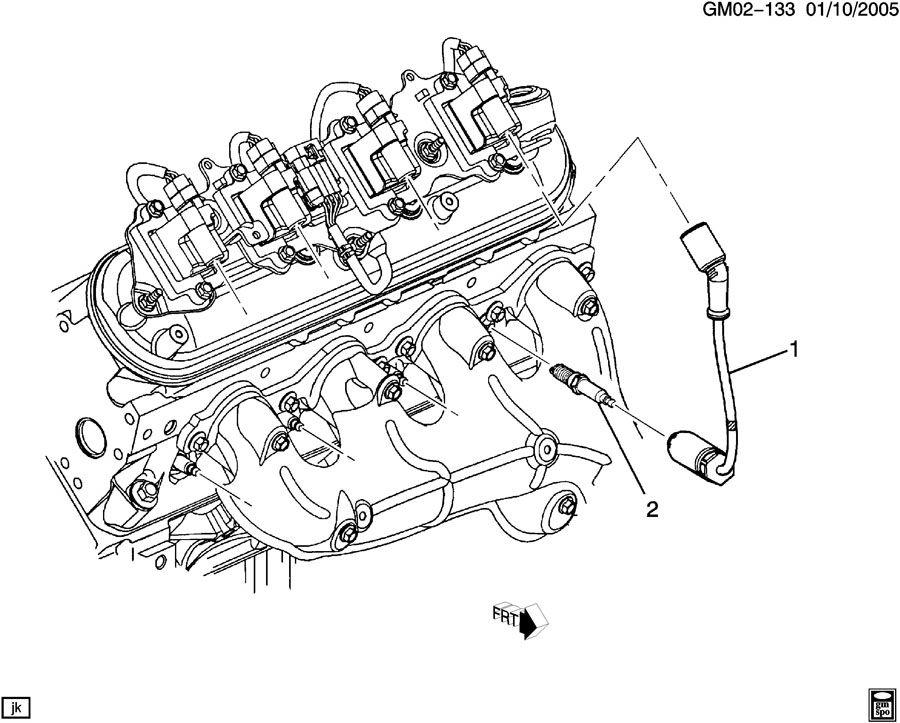 spark plug wiring  lh8  lh9