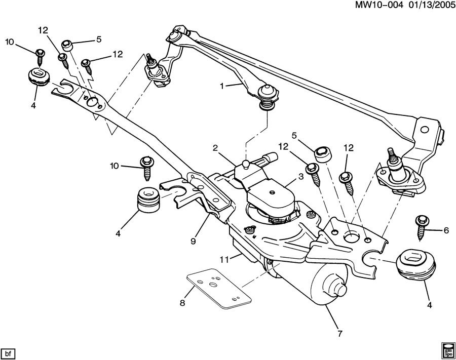 Windshield Wiper Motor Diagram Car Tuning Wiring Diagram Options