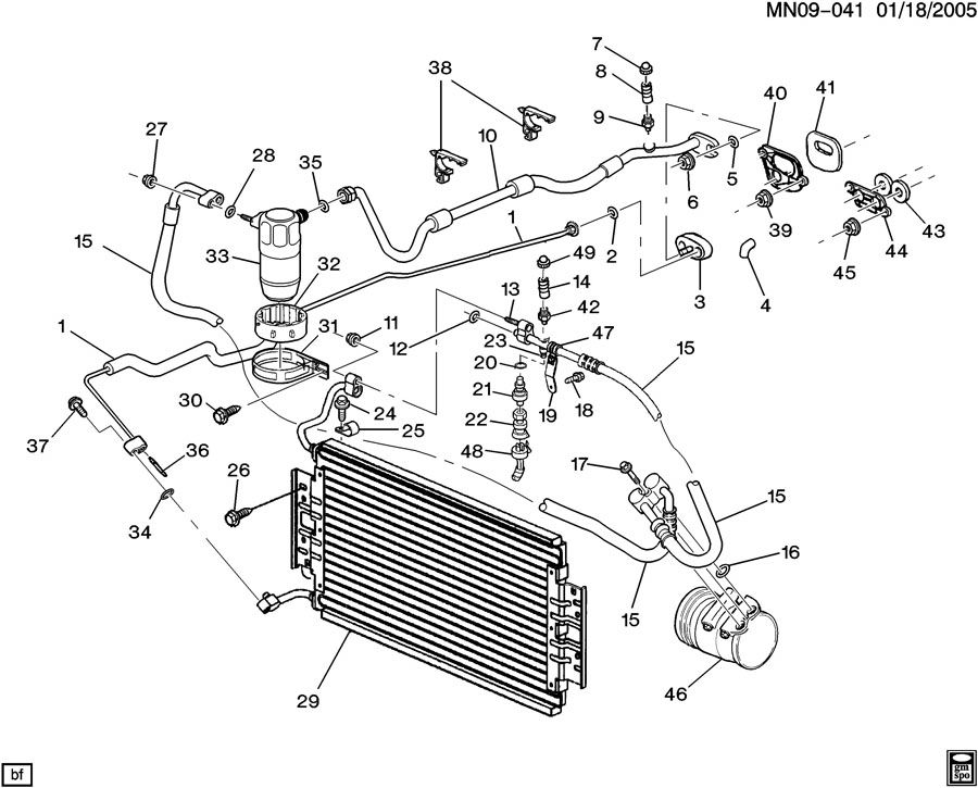 oldsmobile alero air conditioning wiring diagram