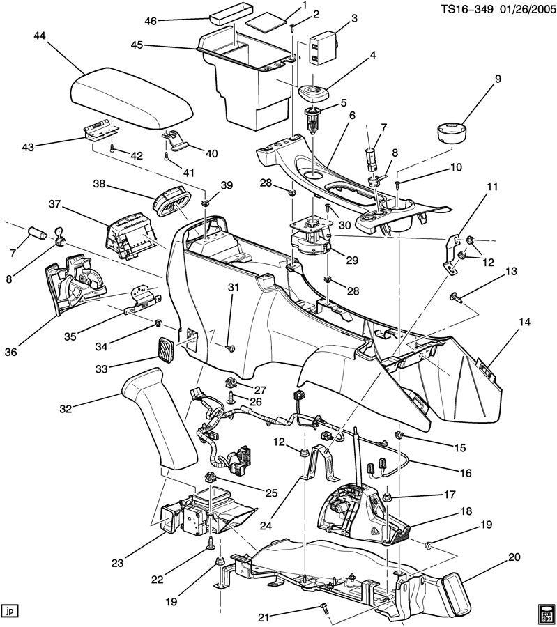 2008 Chevrolet Trailblazer Base Latch  Seat Separator Console  Latch  F  Flr Rr Cnsl A  Rst