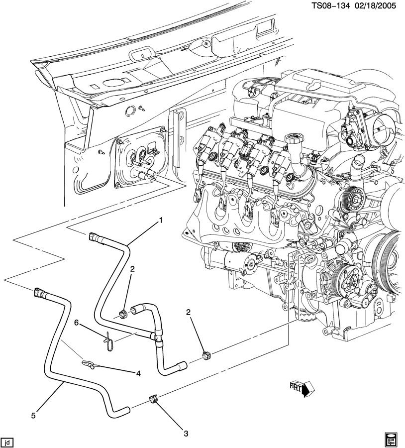 2004 cadillac escalade 5 3 engine