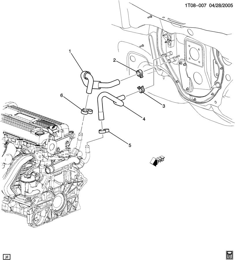 2 4l Twin Cam Engine Diagram Egr Valve Location On Engine