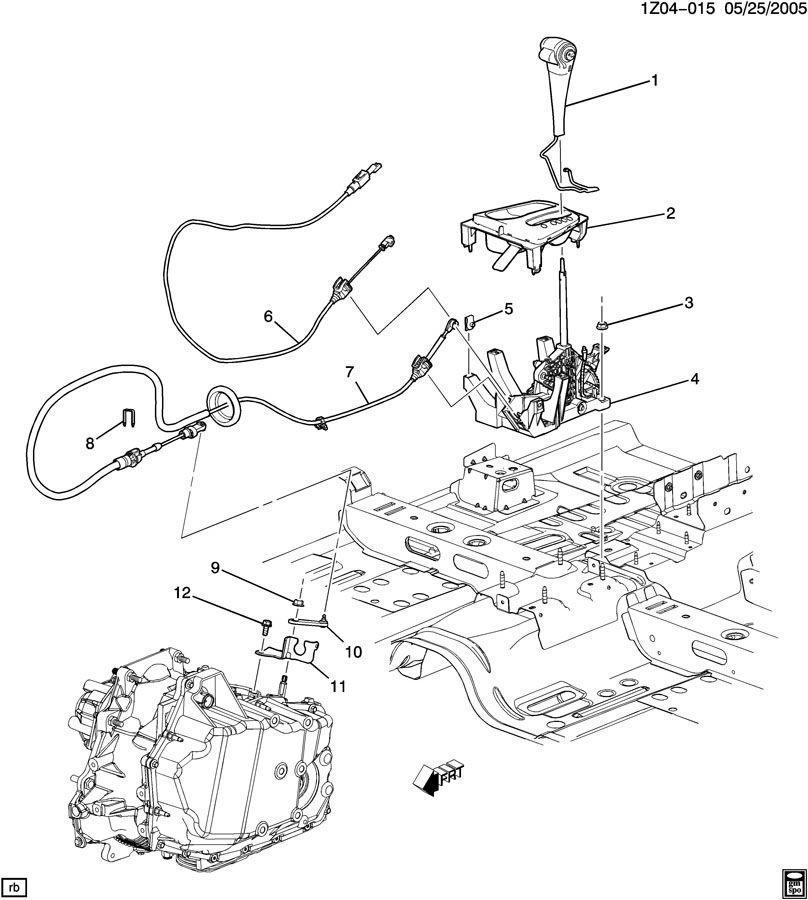 2006 hummer transmission parts