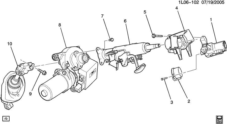 steering column part 1