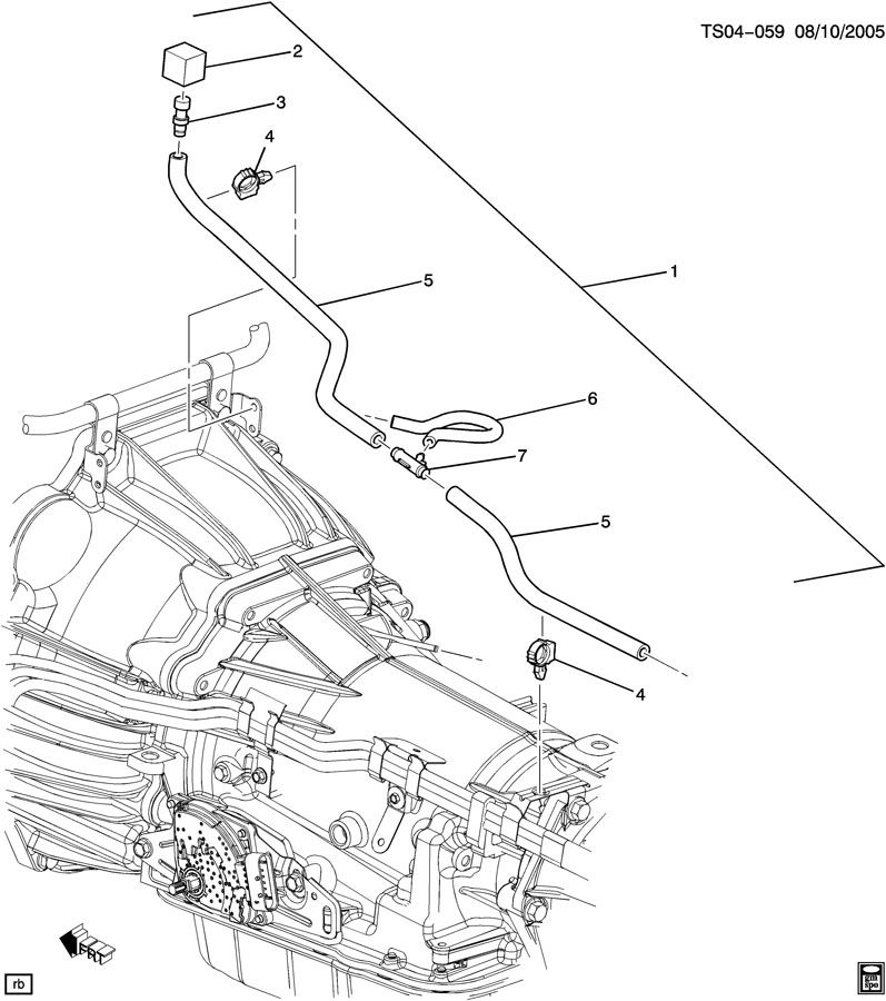 2002 Chevy Silverado Transmission Vent Hose Diagram