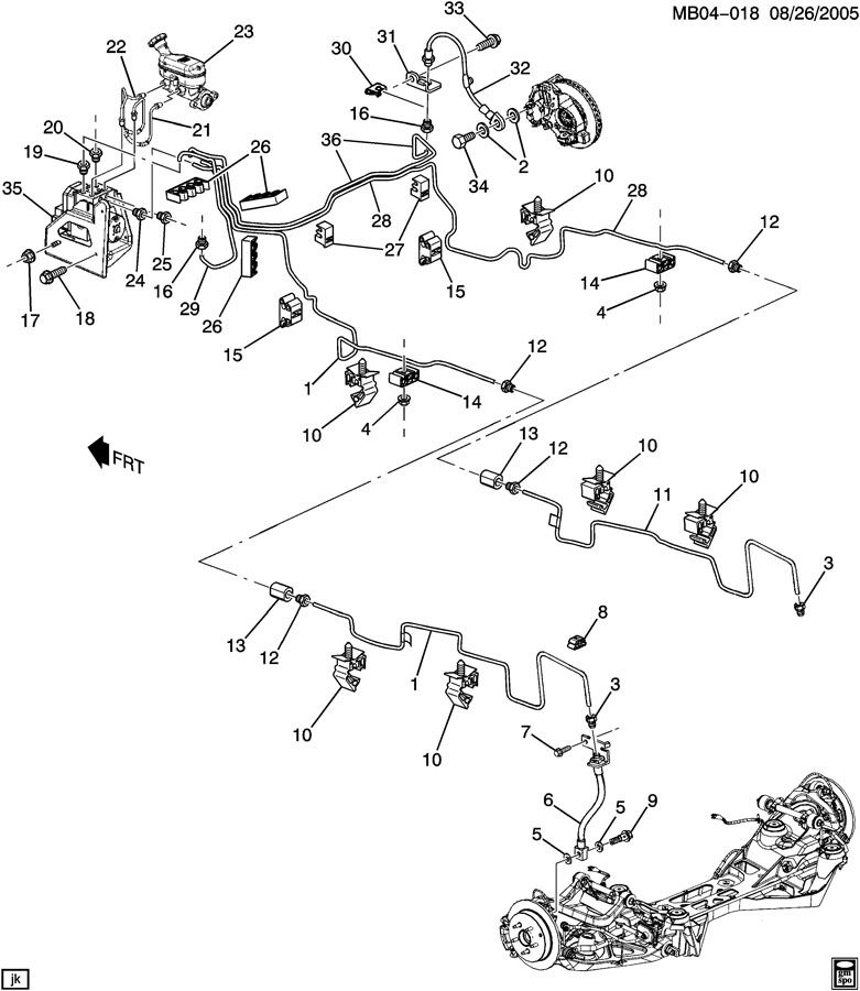 2004 buick rendezvous engine diagram