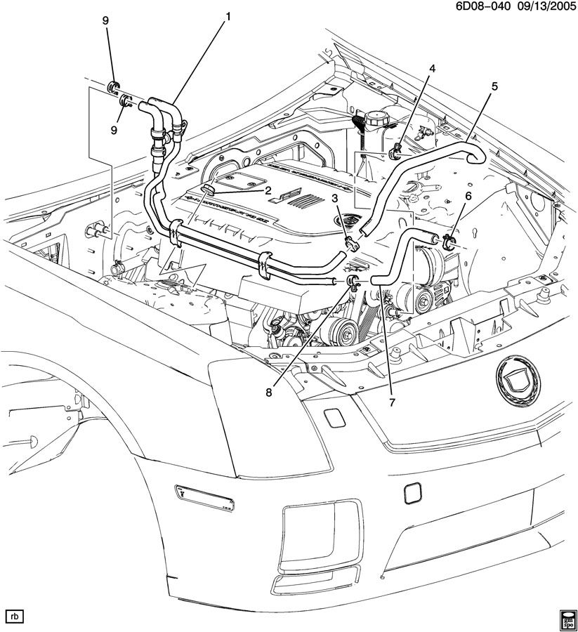 2005 cadillac cts alternator diagram html