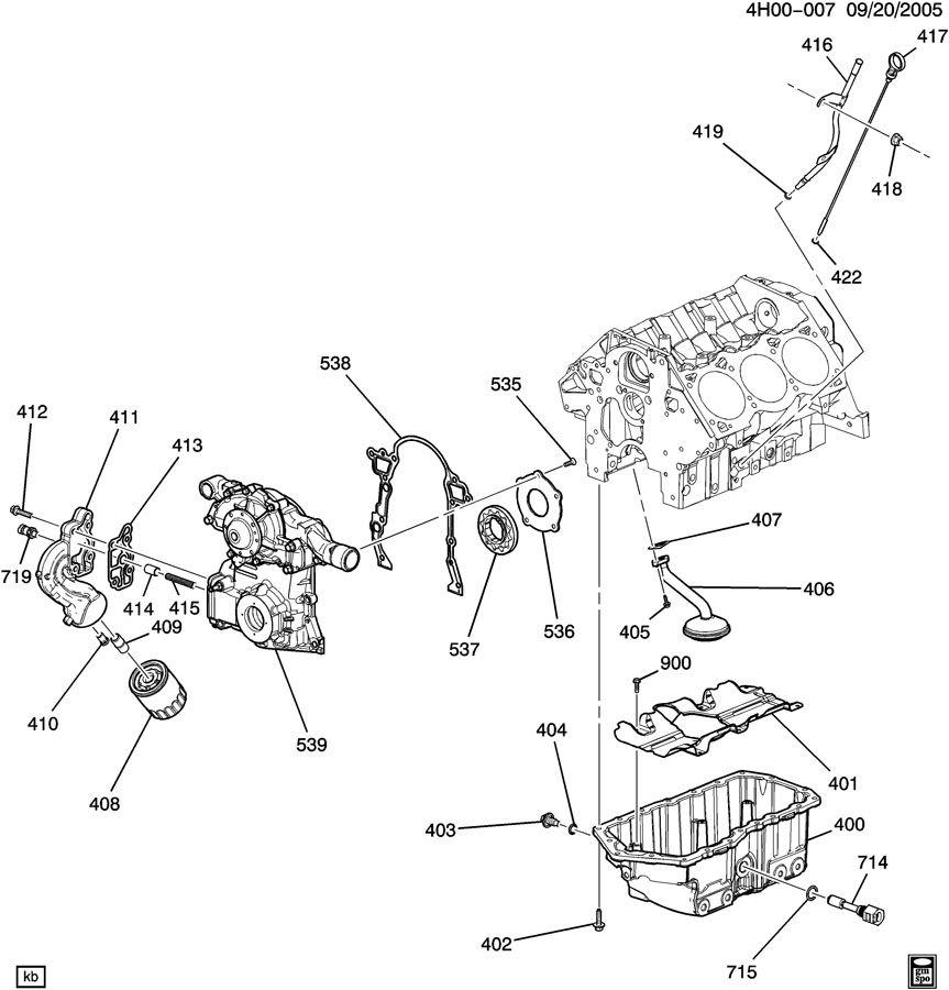 Buick Lucerne Engine Oil Level  Sensor  Switch  Indmating
