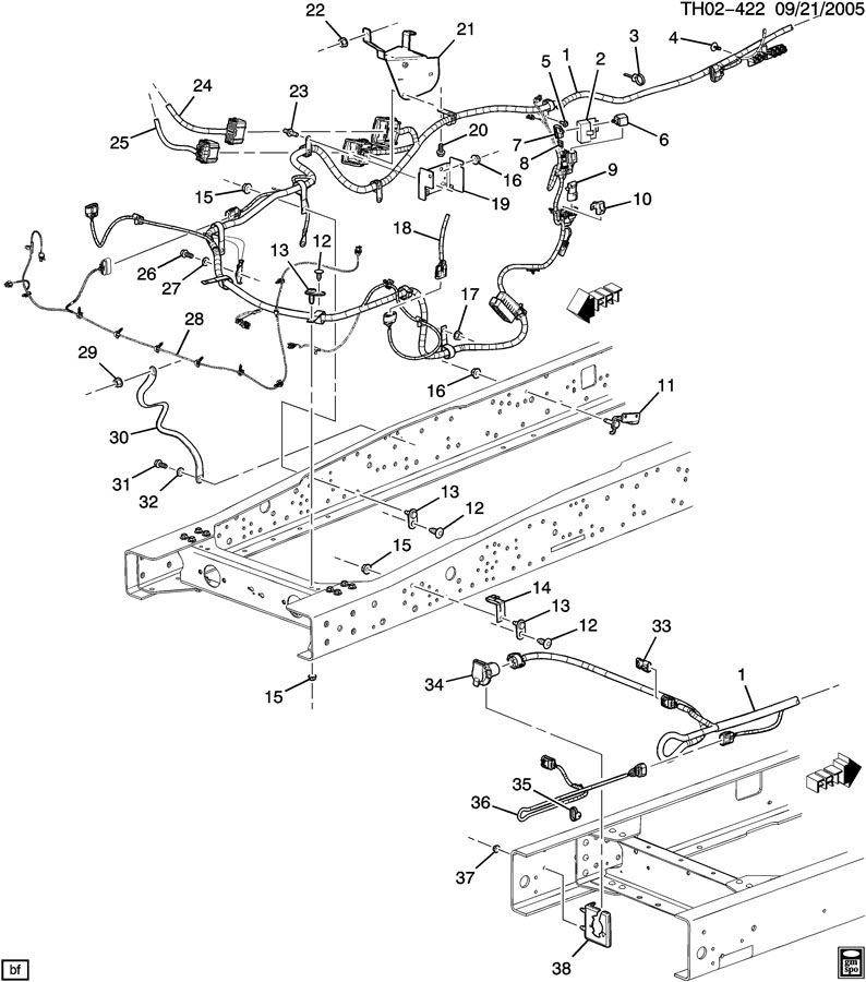 2008 chevrolet kodiak wiring diagram