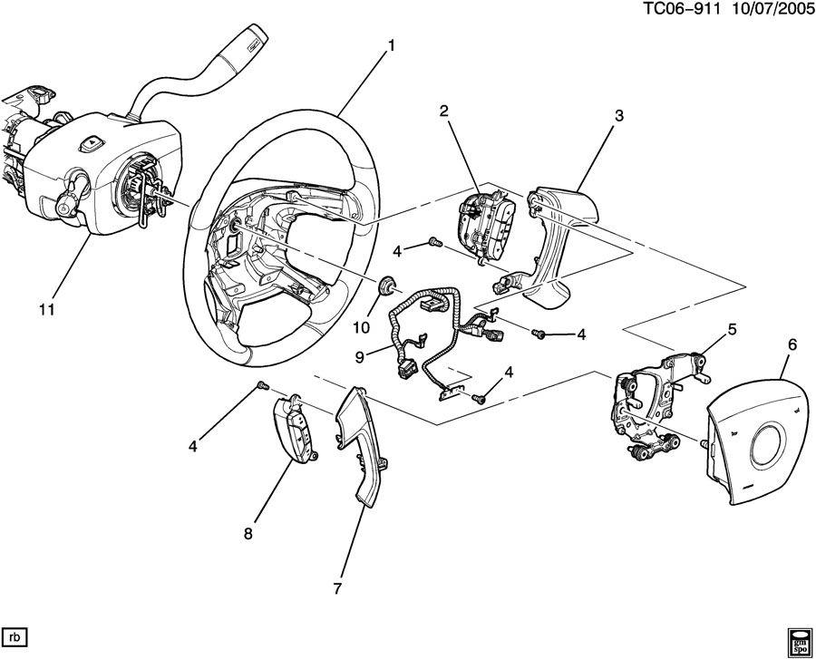 Chevrolet Silverado Wheel  Steering  Wheel  Strg Titanium