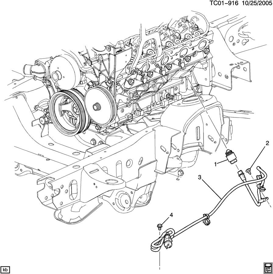 Locating Engine Block Heater Cord 2005 Gmc Canyon Diagram Parts Image