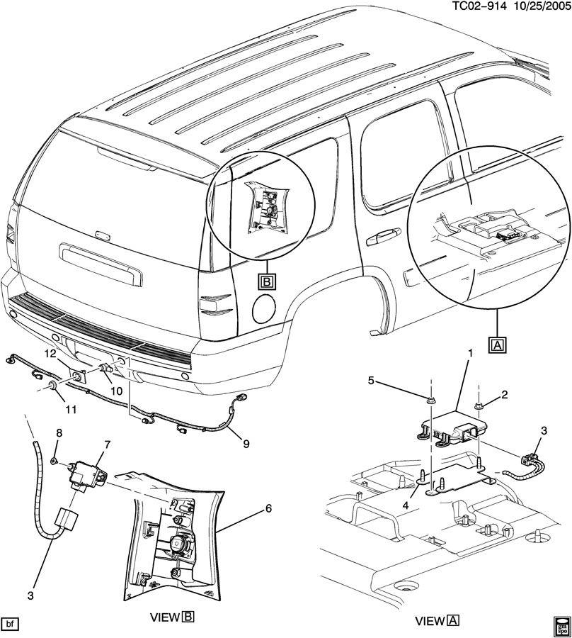 sensor system  rear object