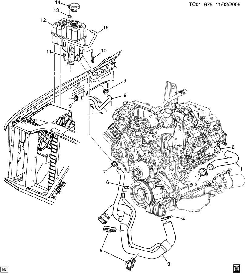 Chevrolet Duramax Radiator Diagram Com