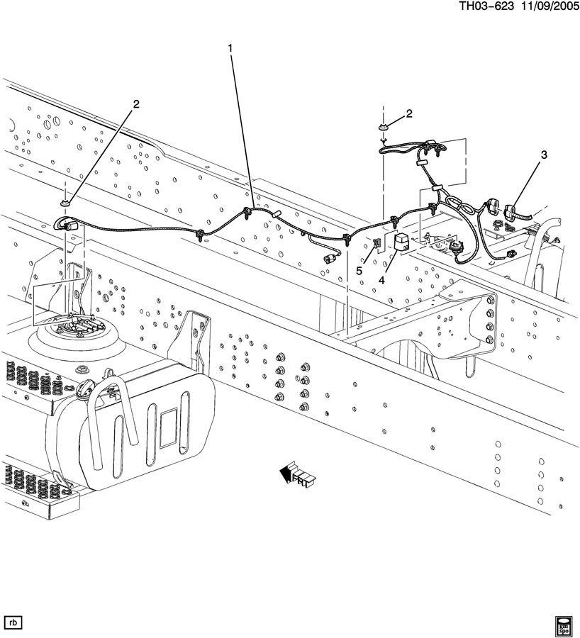 2006 fuel tank harness