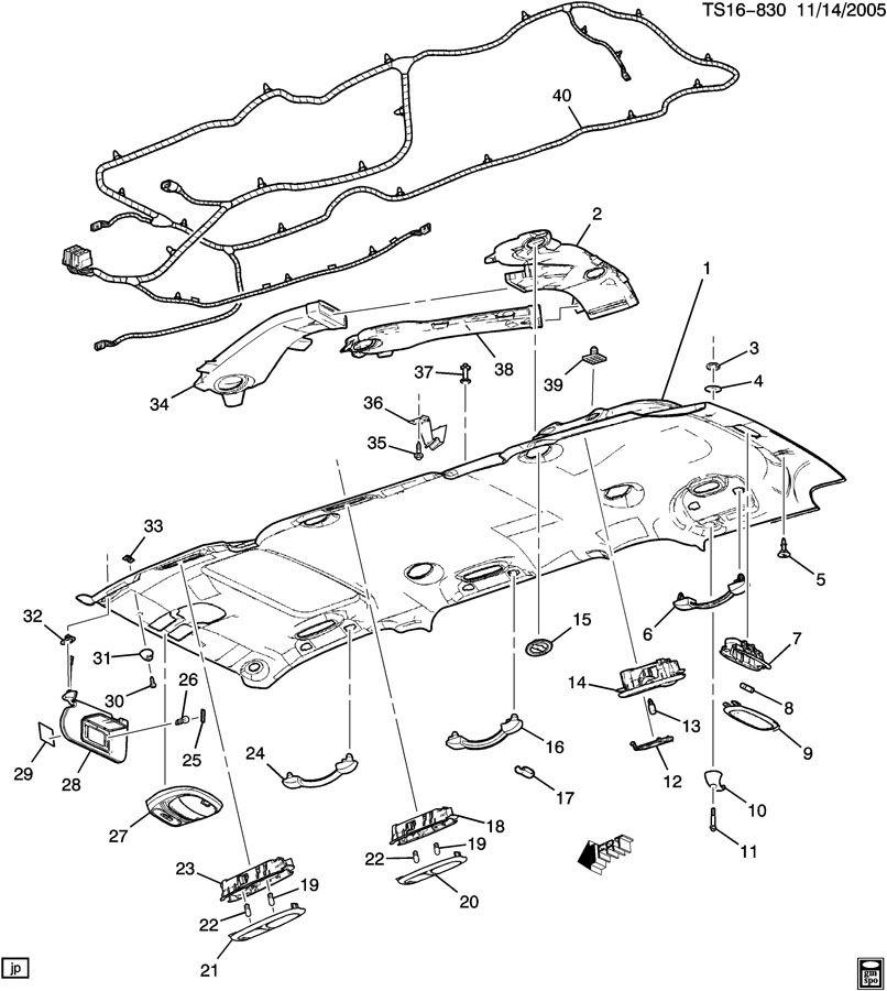 2006 kia rio interior diagram