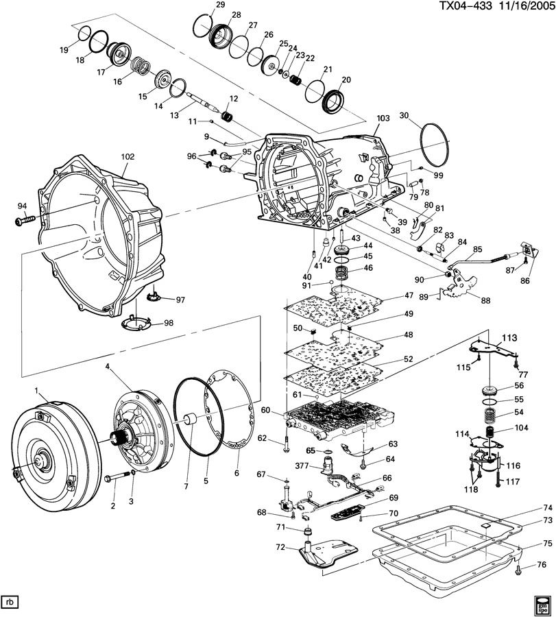 automatic transmission  m30  part 2  4l60