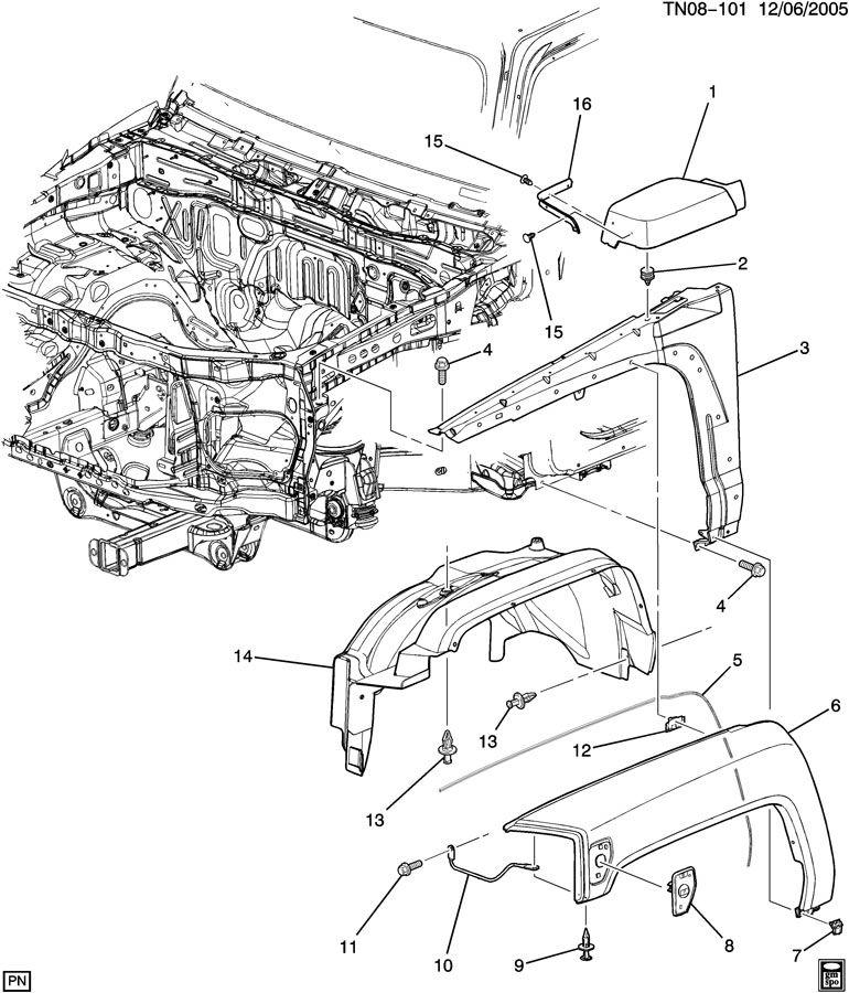 hummer h3 front end parts diagram