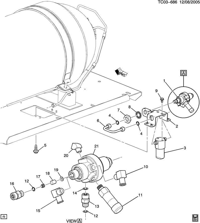 2005 chevrolet silverado 2500 filter  engine fuel filter  filter  cng fuel acdelco  52371359