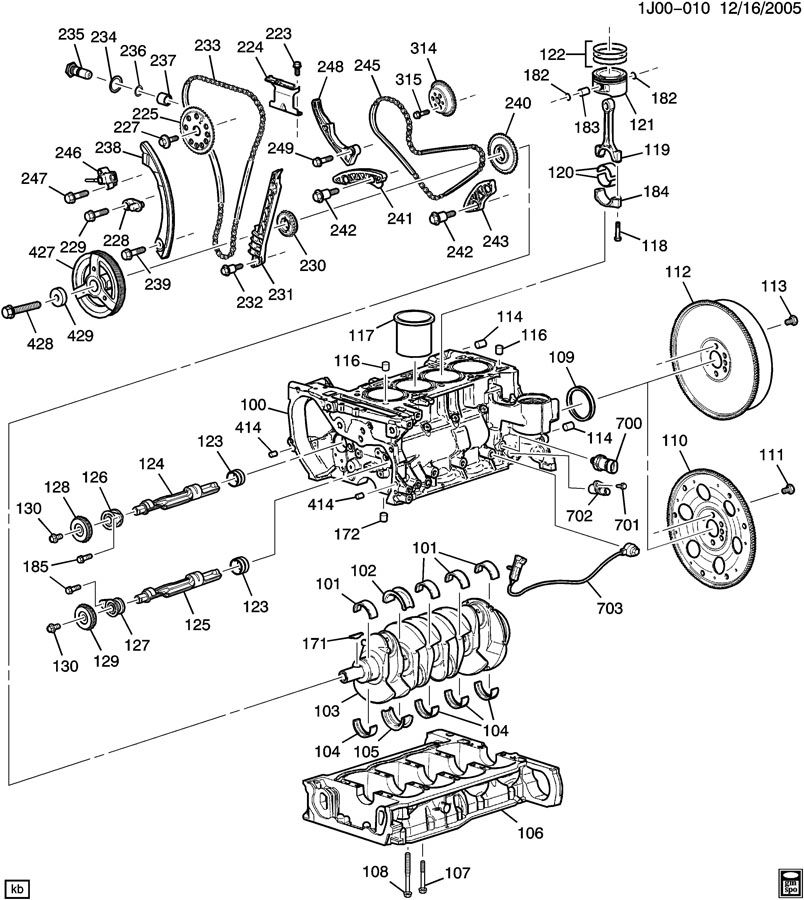 Panel Hook Clips further Chrysler 2 4l Dohc Engine Diagram also 39cpc Voyager Replacing Timing Belt Marks Cylinder Tdc together with 2003 Chevy Cavalier 22 Engine Diagram additionally 3800 Engine Temperature Sensor Location. on 2000 saturn timing chain diagram
